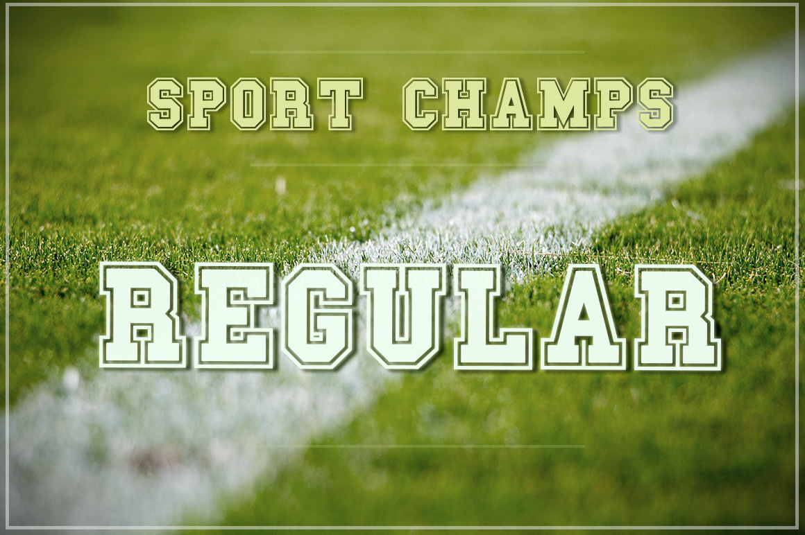 The Sport Champs Font Pack example image 3