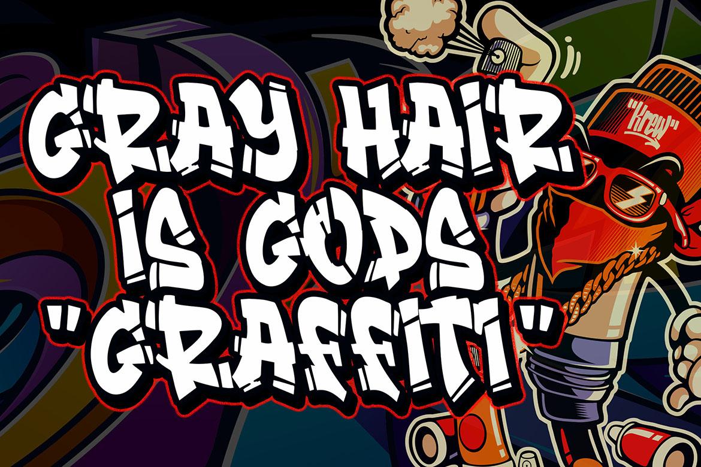 Streamzy - Graffiti Font example image 4