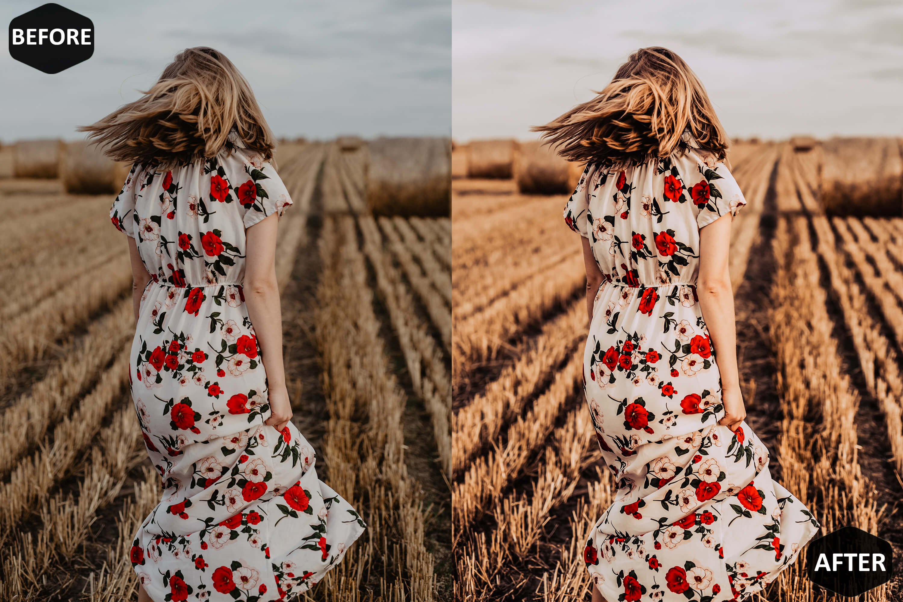 Red Blogger Photoshop Actions And ACR Presets example image 4