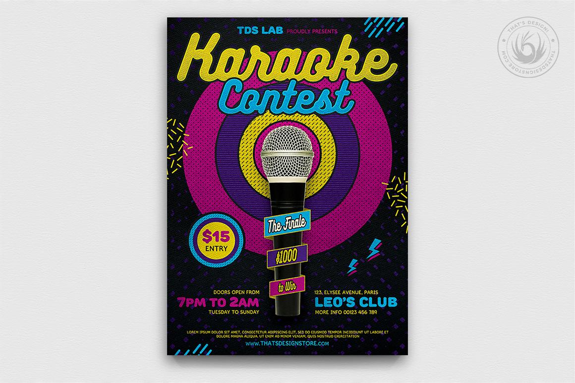10 Karaoke Flyer Bundle example image 7