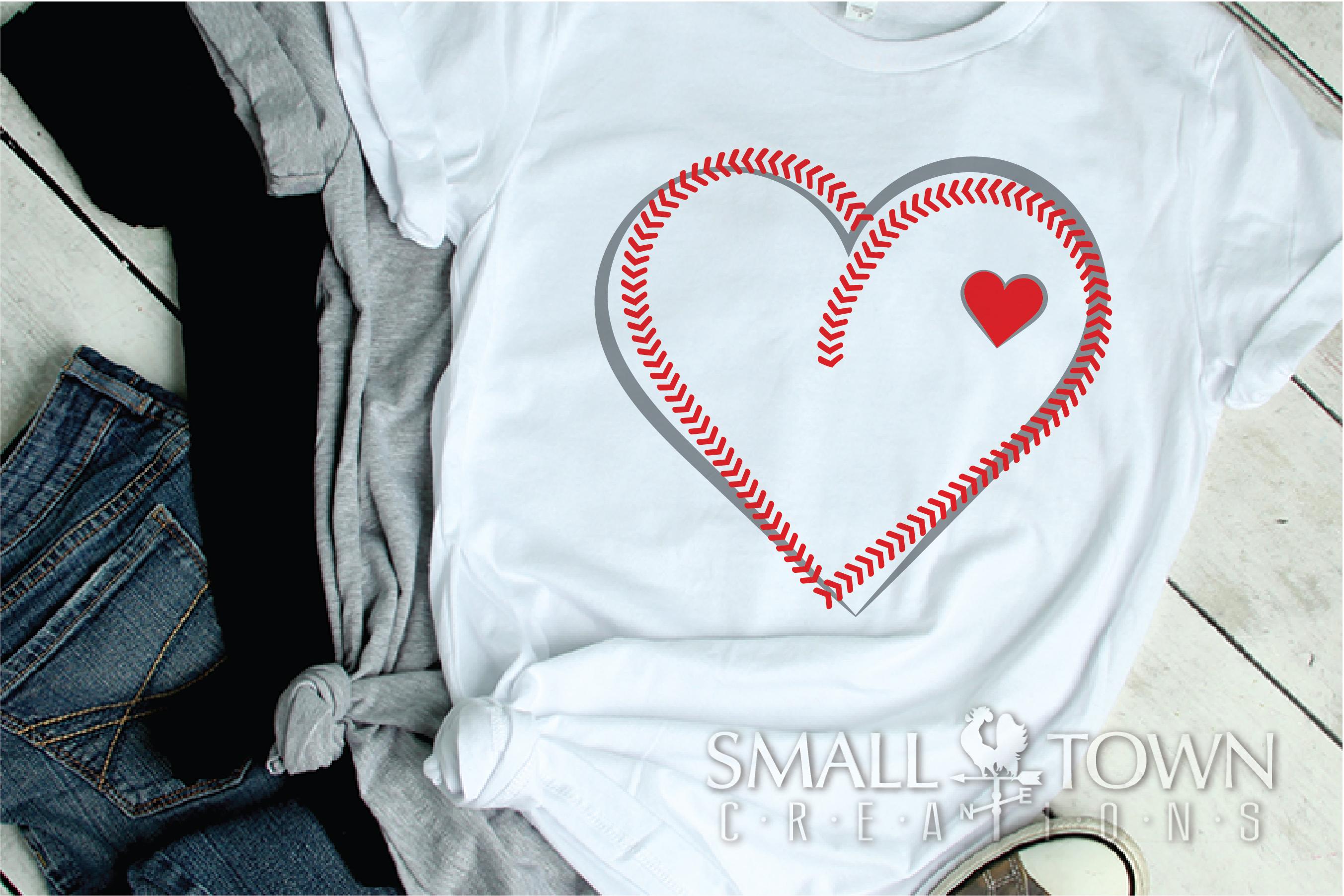 Baseball, Softball, Stitches, Team, PRINT, CUT & DESIGN example image 2