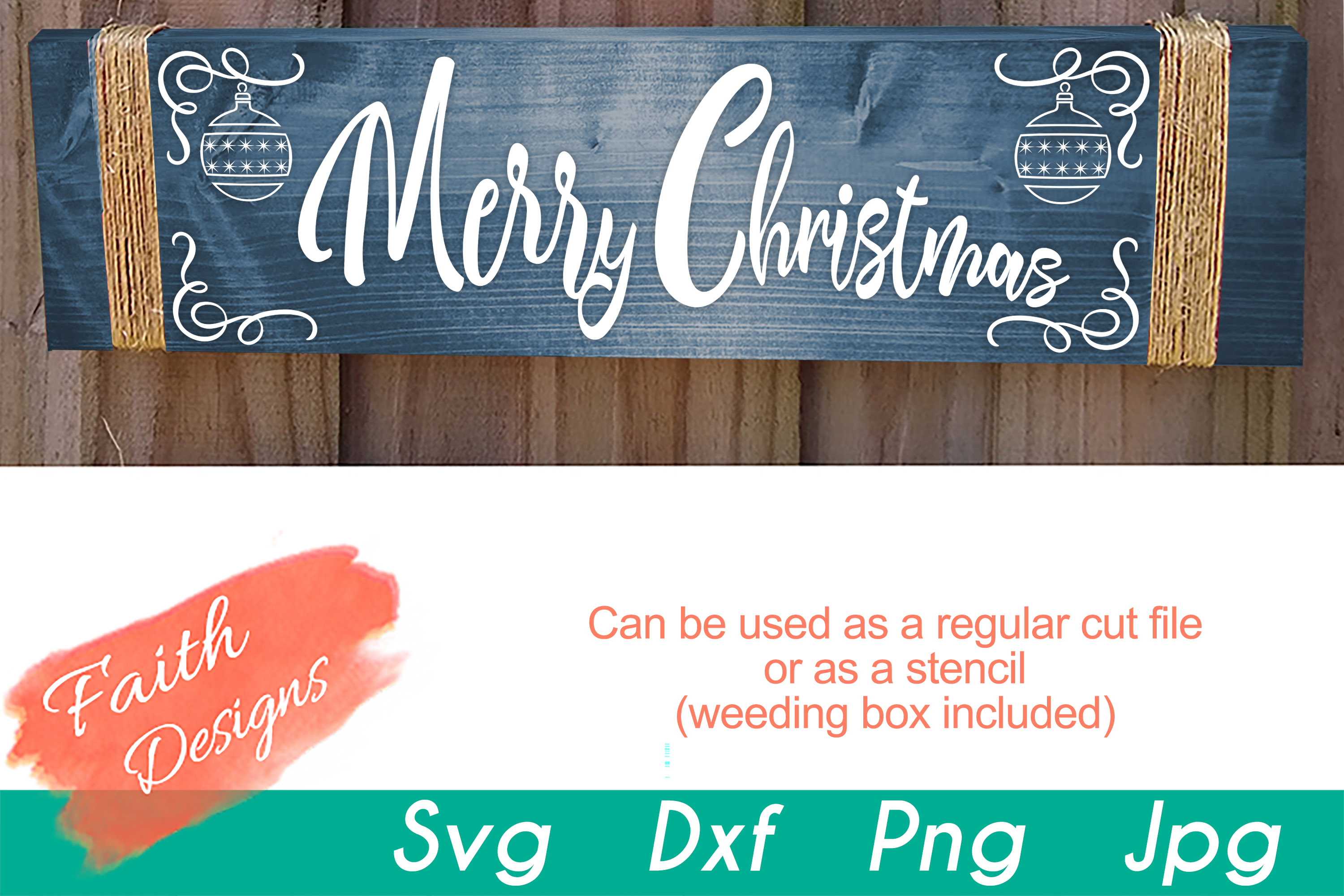 Christmas Porch Sign Bundle example image 9