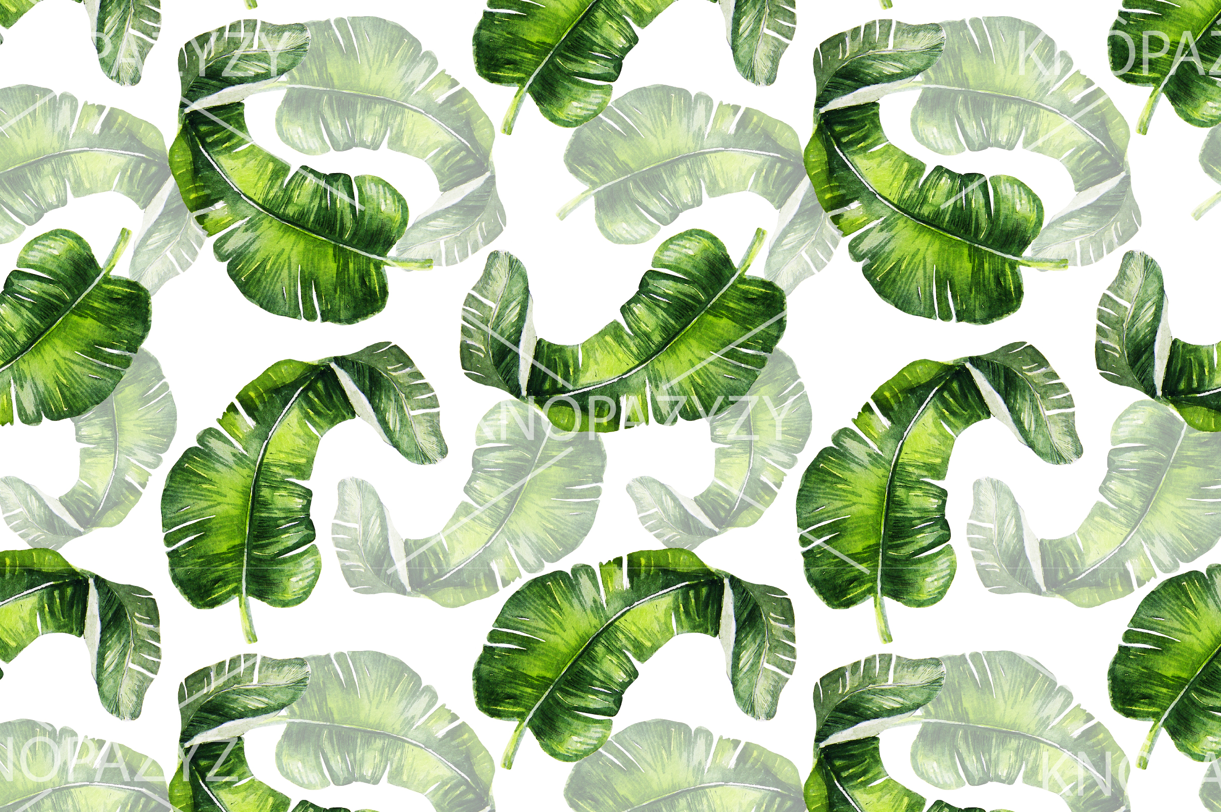 16 Hand Drawn Watercolor Pattern example image 4