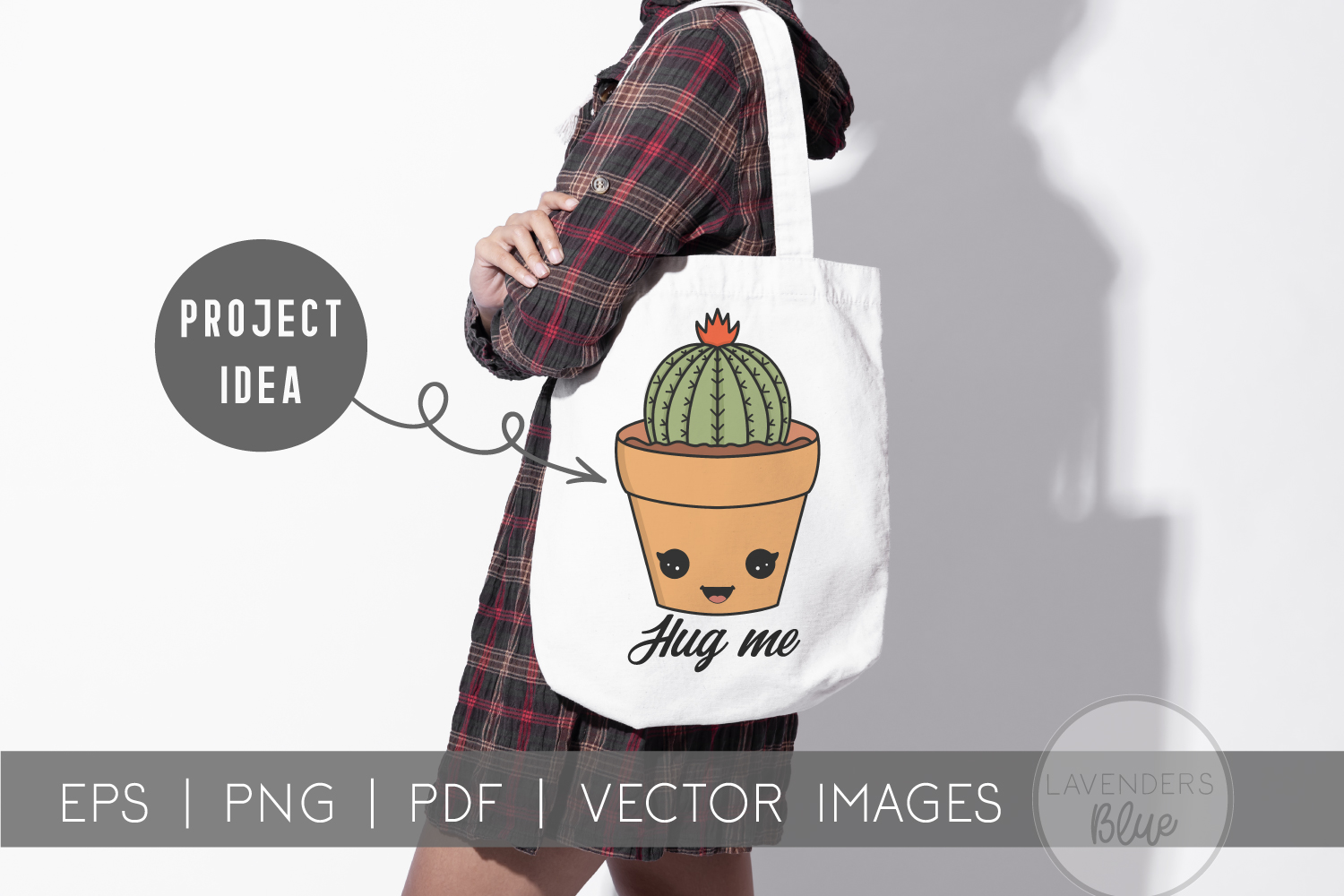 Succulent Pack | Vector succulents & Cactus Kawaii Images example image 2