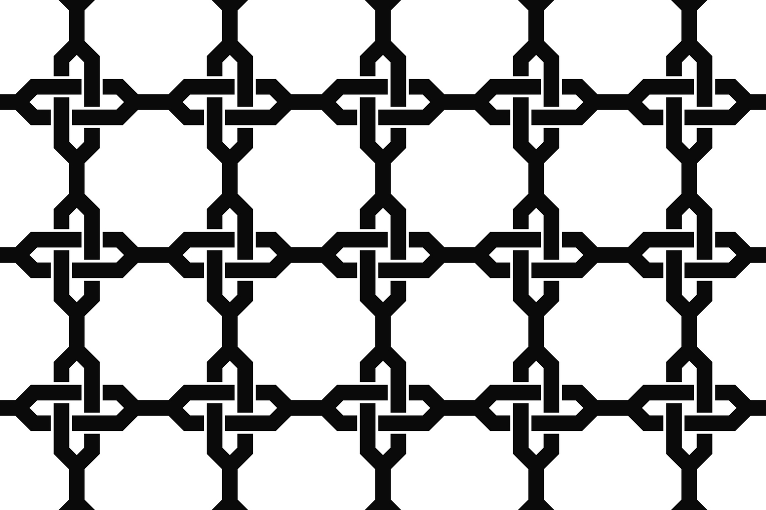 75 Monochrome Geometrical Patterns AI, EPS, JPG 5000x5000 example image 10