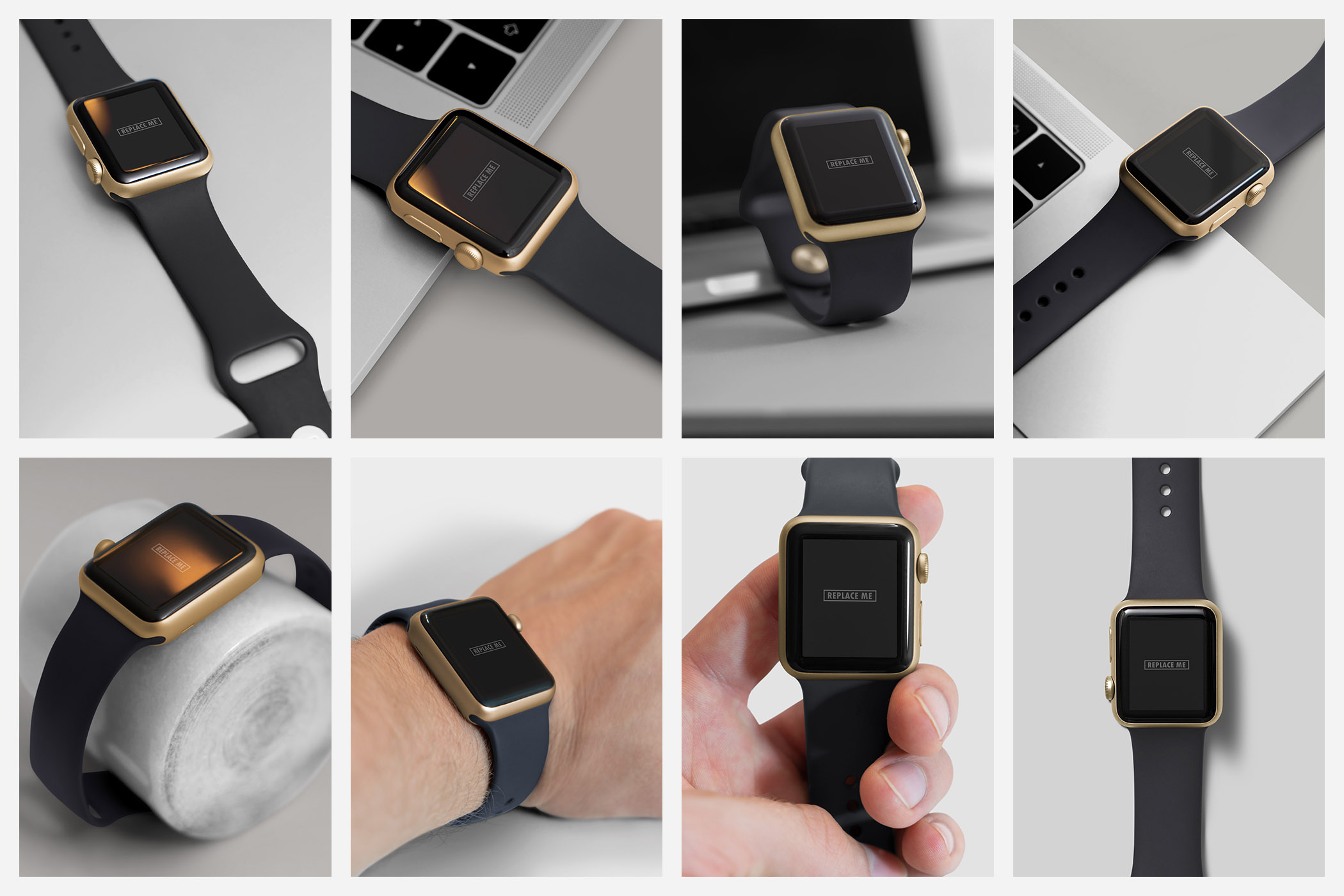 Realistic Smart Watch Mockups example image 3