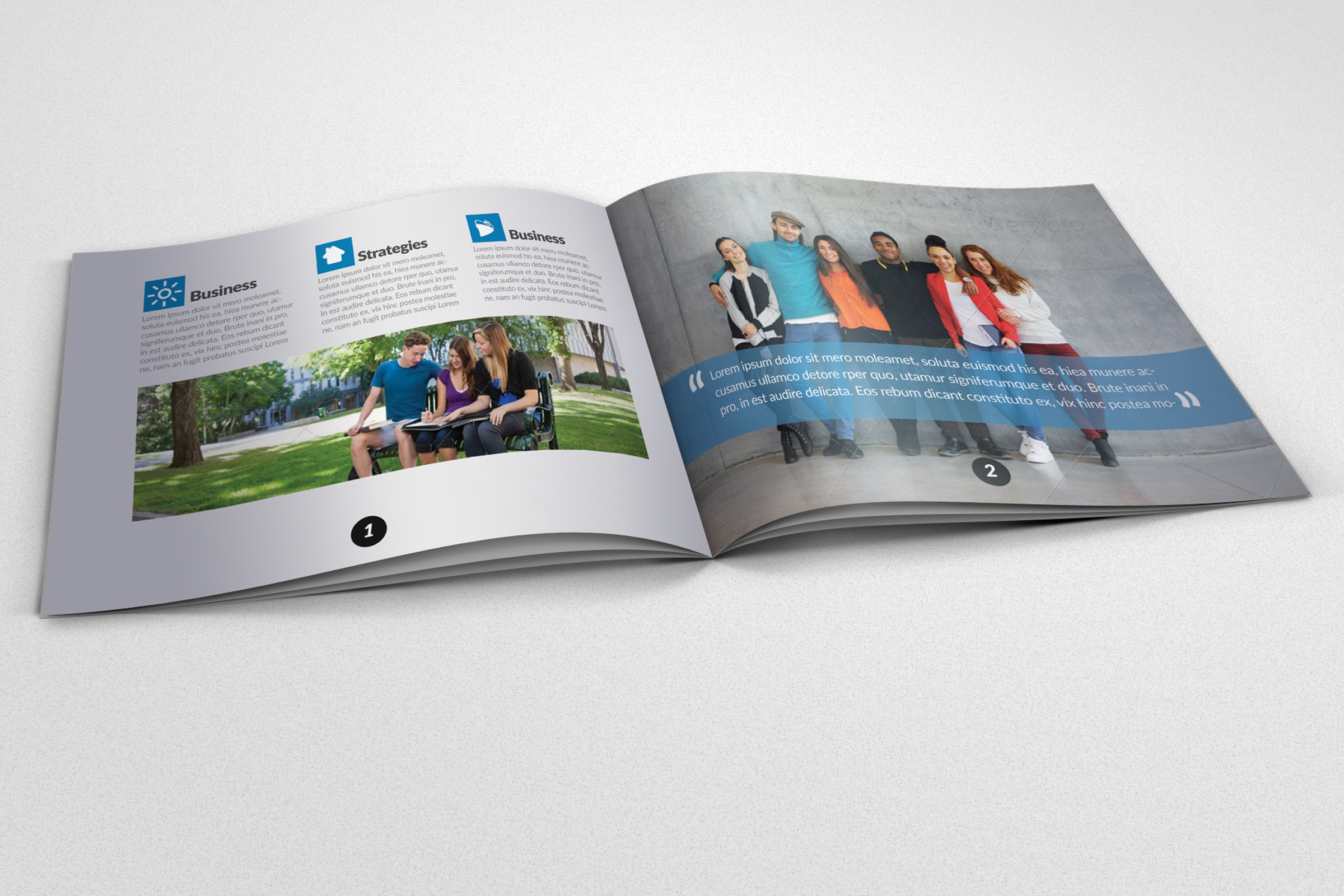 20 Pages Catalogue Education Bifold Brochure example image 9