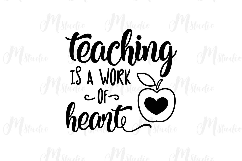 Teacher SVG Bundle. example image 27