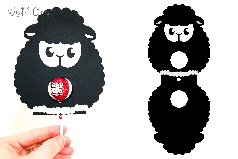lollipop holder designs. Lamb, Rabbit, Duck and Penguin example image 8