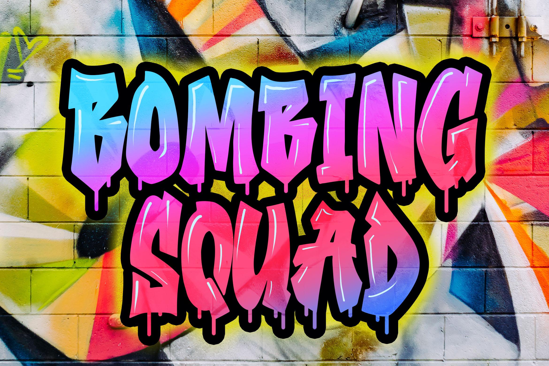 Southsider - Graffiti Typeface example image 2