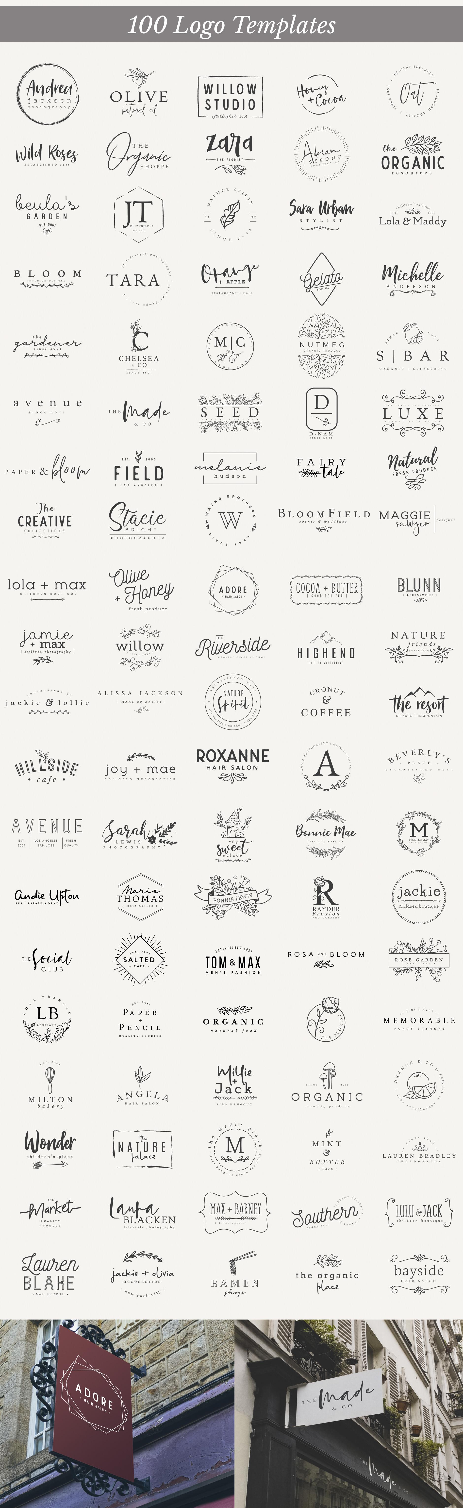 Essential Branding set v.3 example image 3