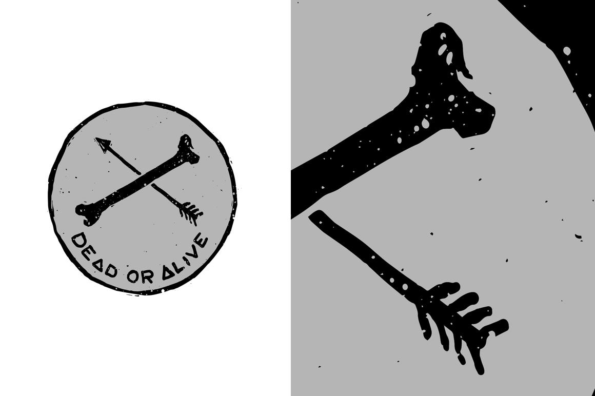 20 VECTOR skull illustration example image 10