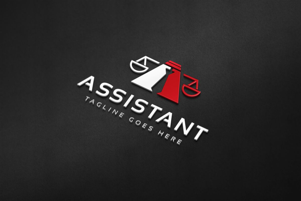 Assistant Law Logo example image 4