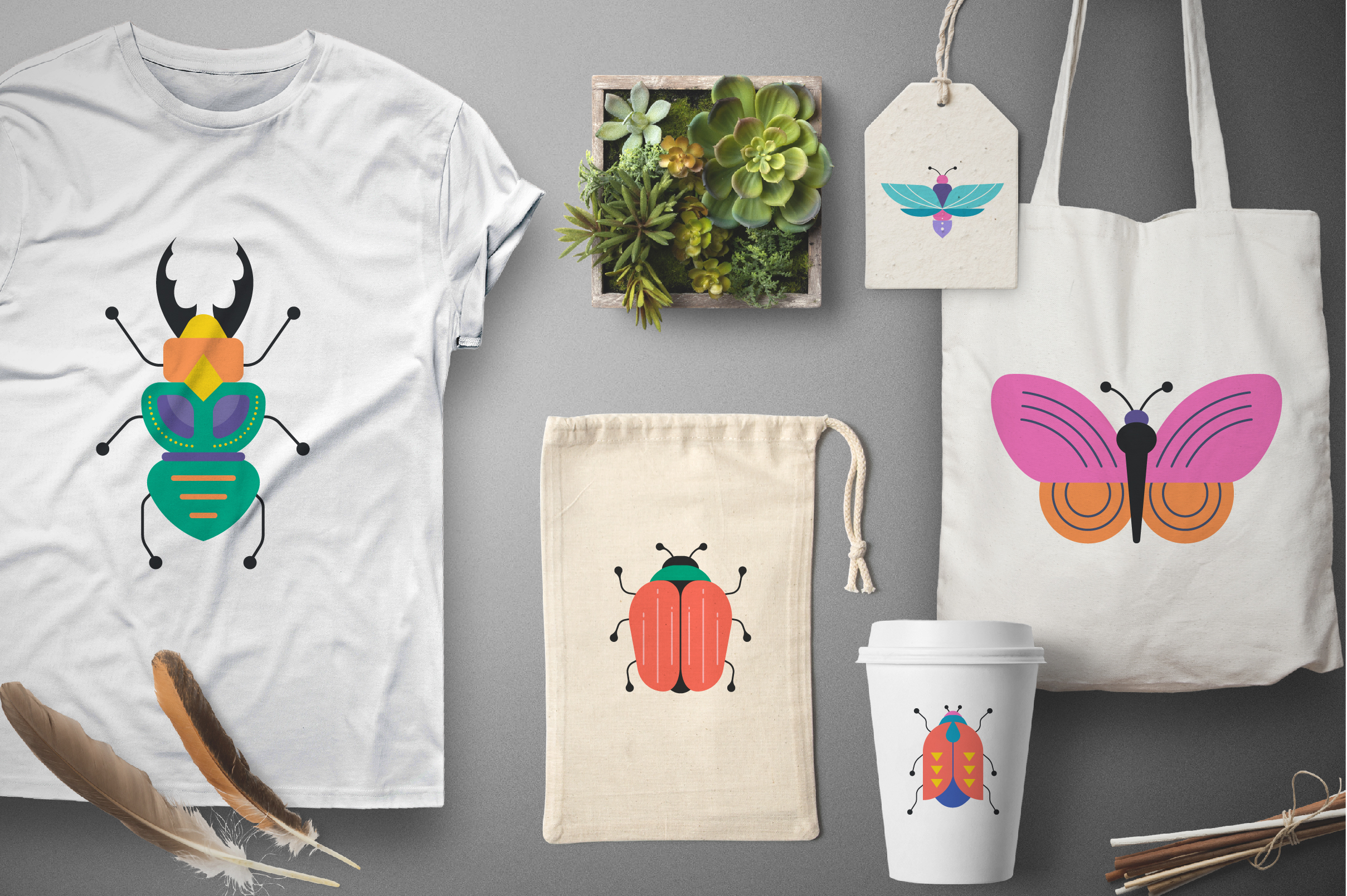 Bugs and insects collection  example image 4
