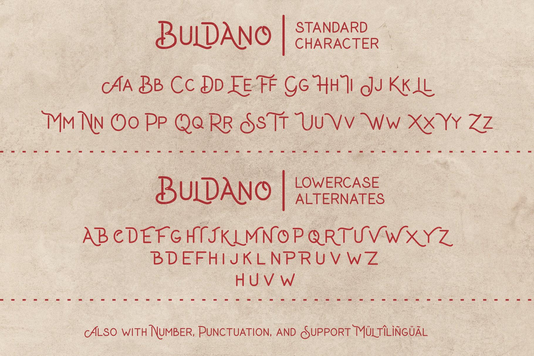 Buldano Stylish Sans example image 10