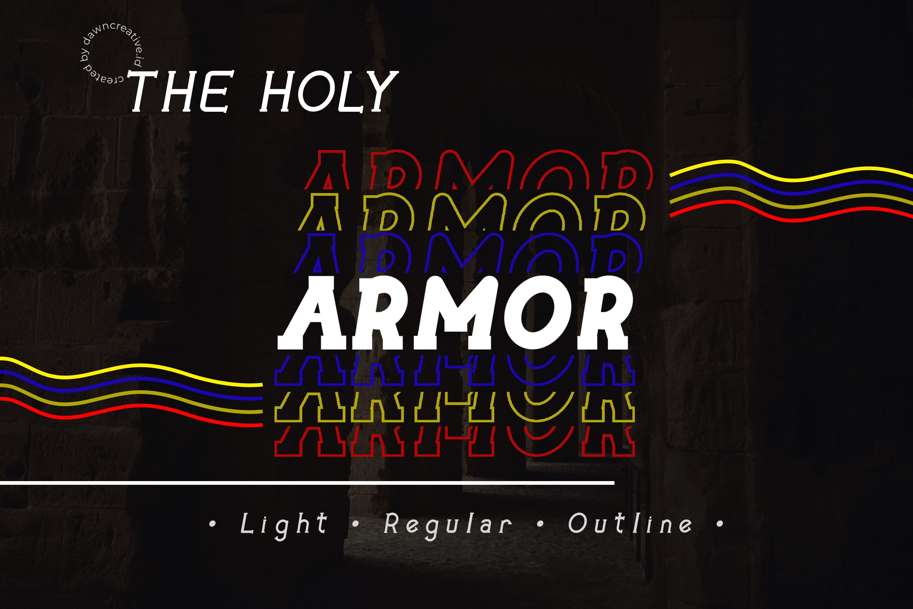 The Holy Armor example image 1