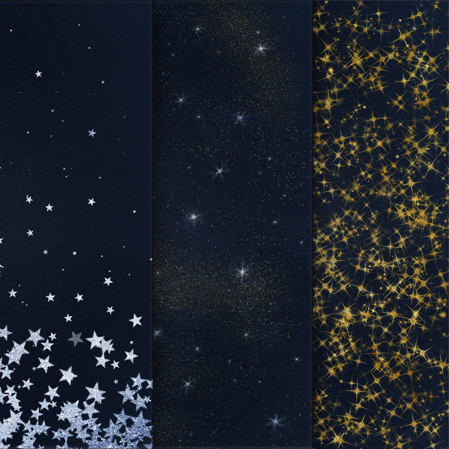 Starry Night Backgrounds example image 3