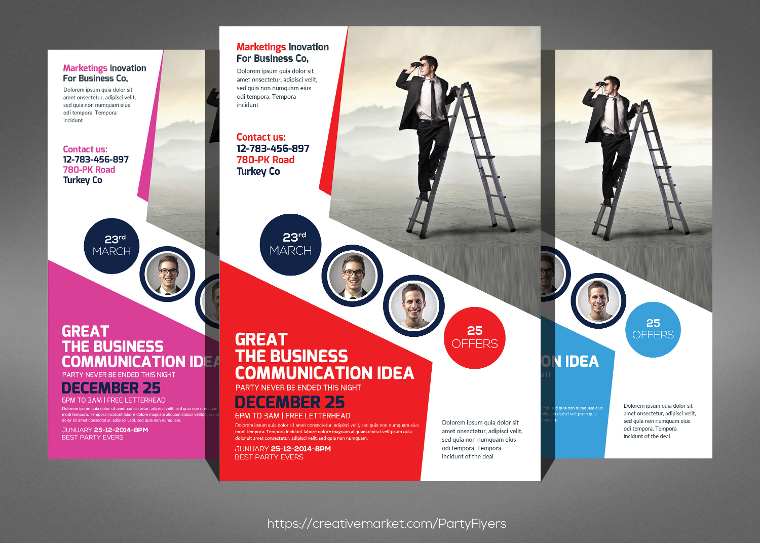 Company Flyer Template example image 1
