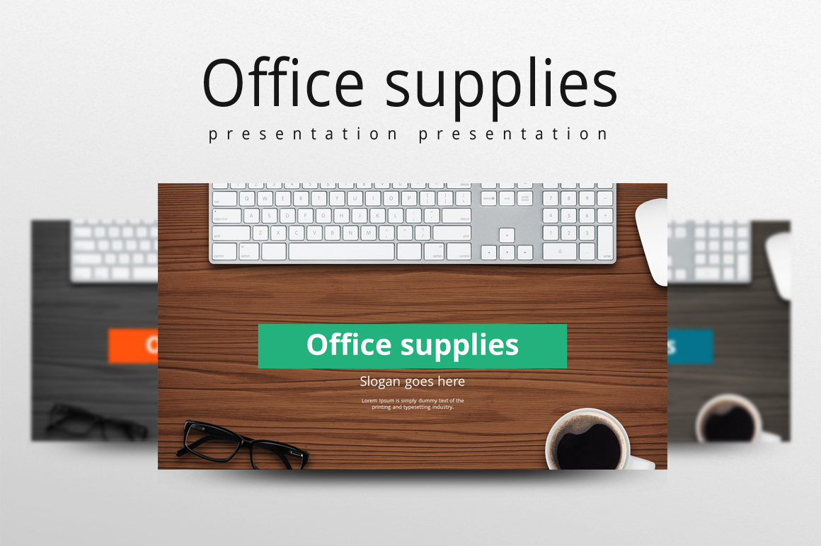 Office Supplies Template example image 1