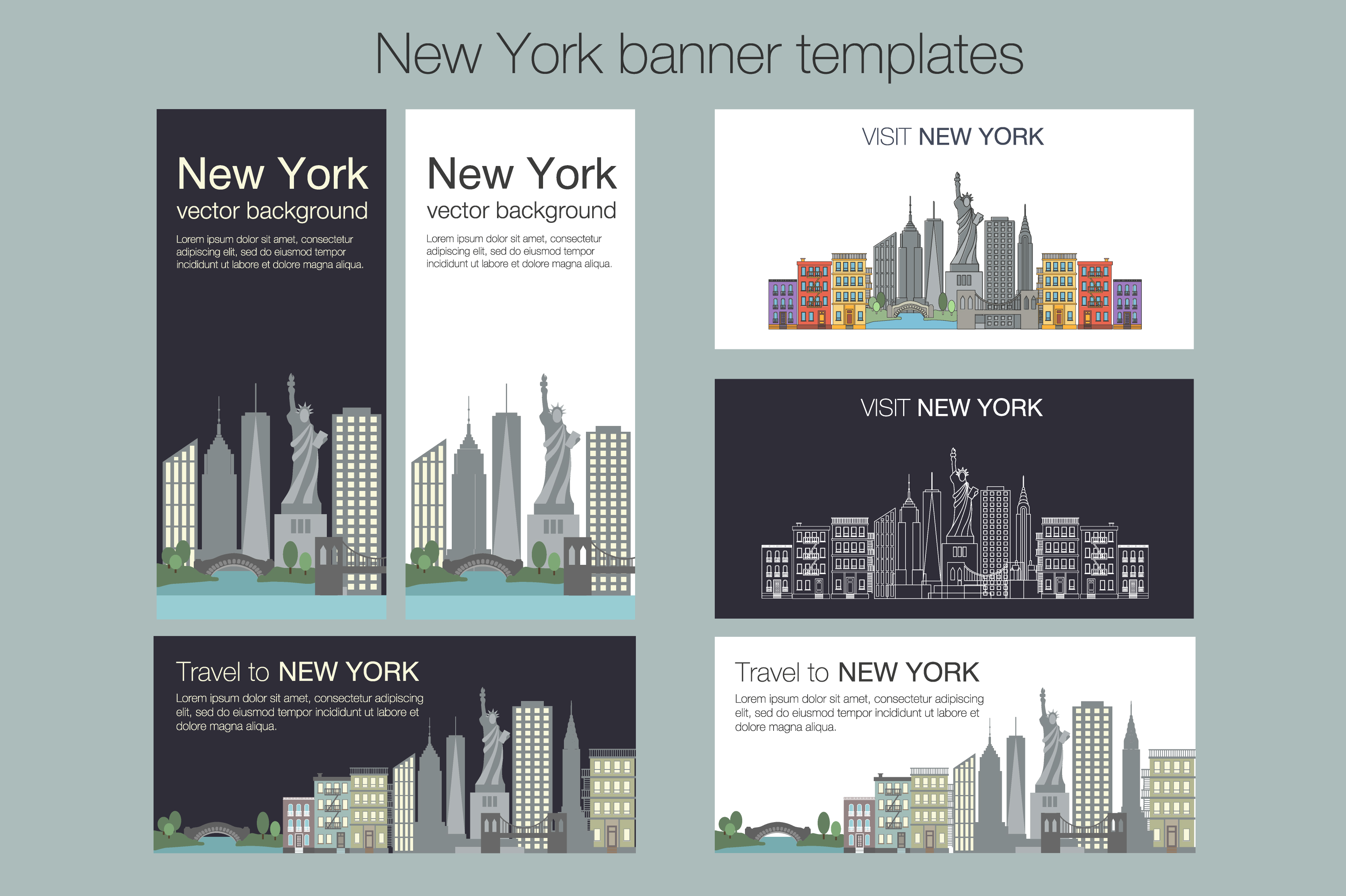 NEW YORK vector collection example image 9