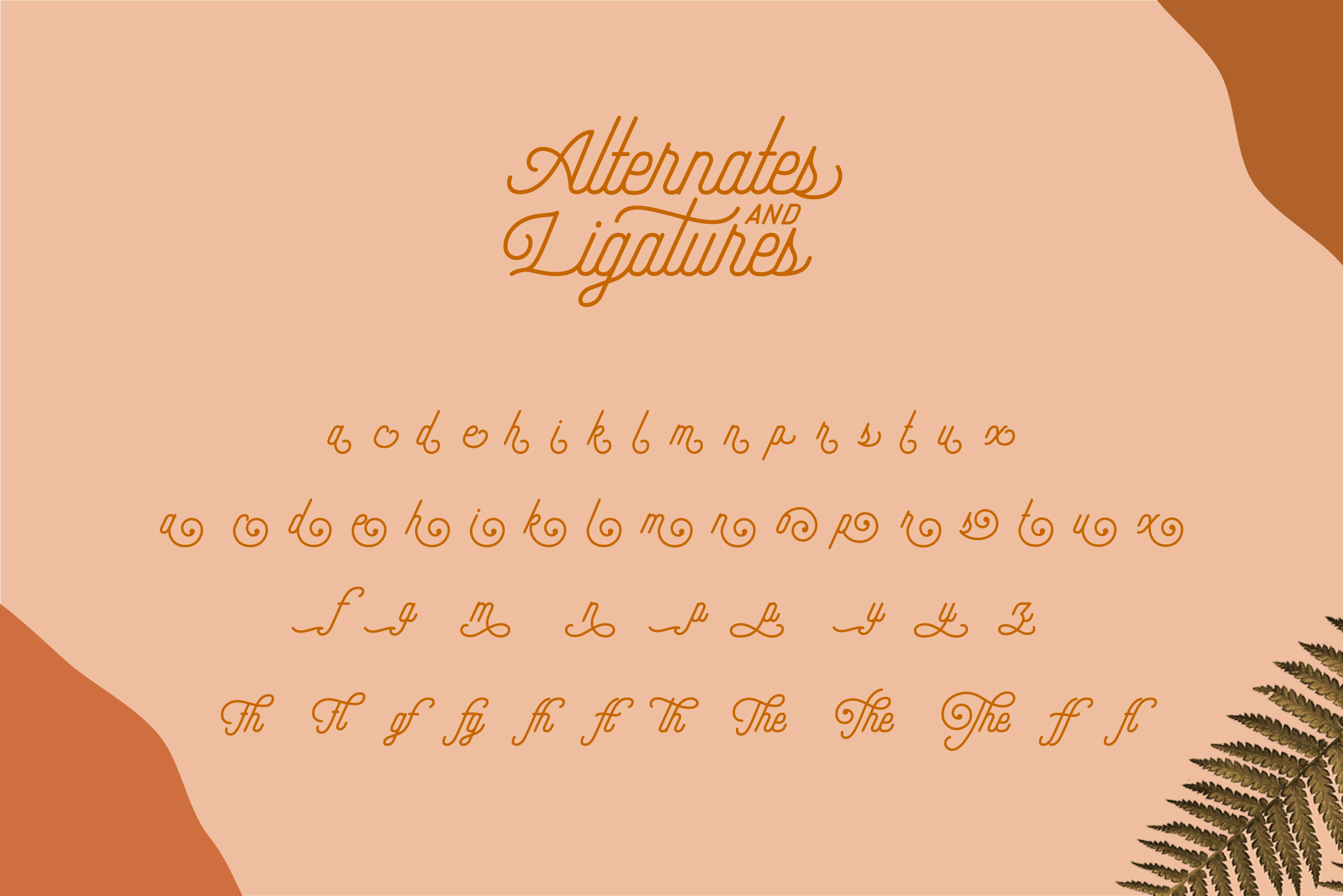 Hipster Style Script and Sans Typeface example image 14