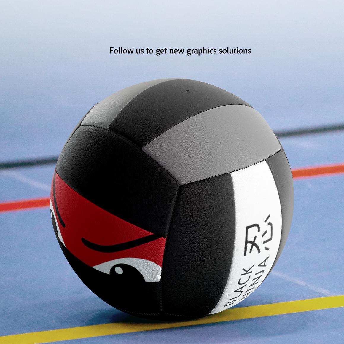 Volleyball Ball Animated Mockup example image 8