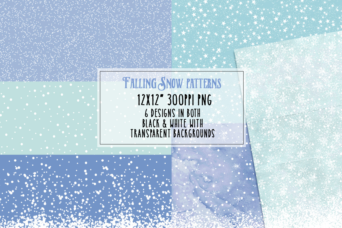 Falling Snow Patterns Preview 2