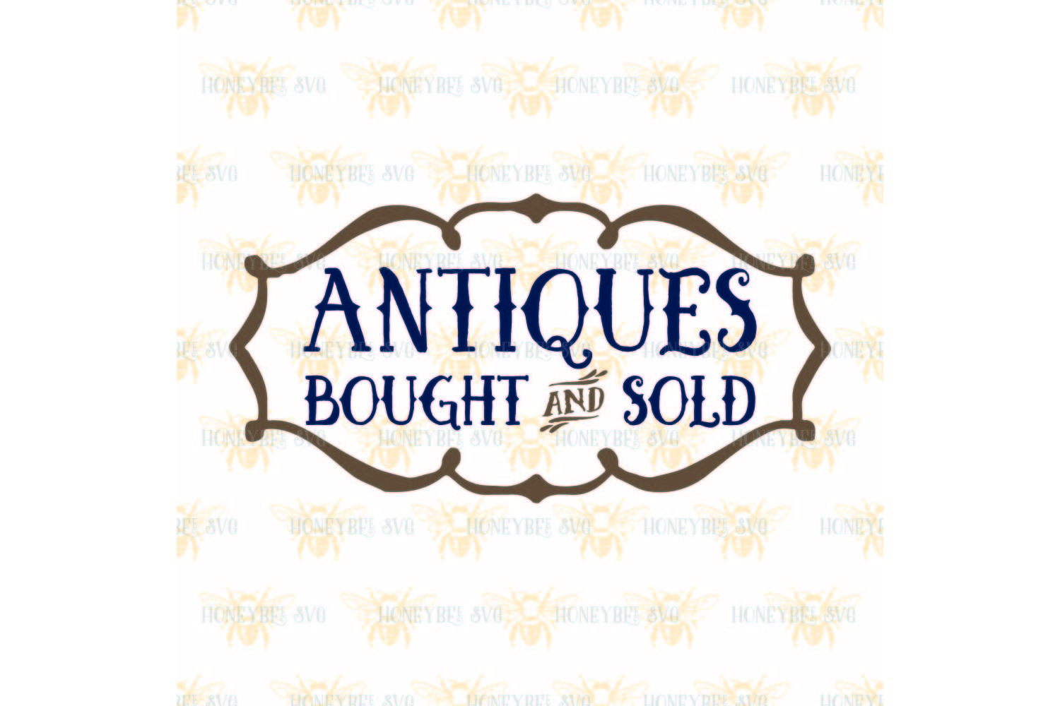 Antiques Bought and Sold svg example image 2