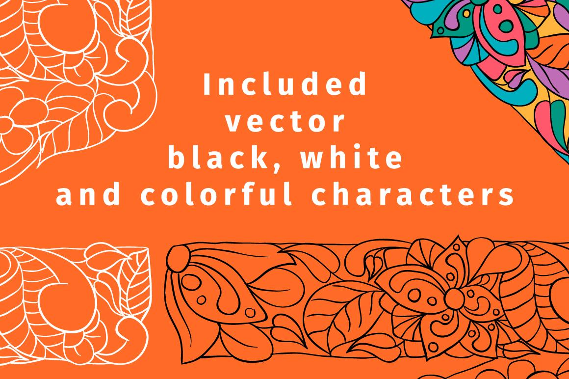 Batik India Color Font example image 6