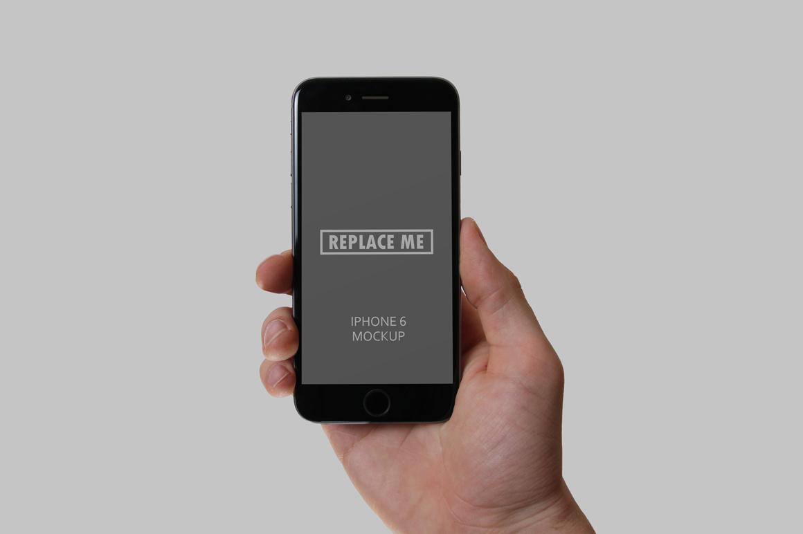 Handheld Device Mockups example image 4