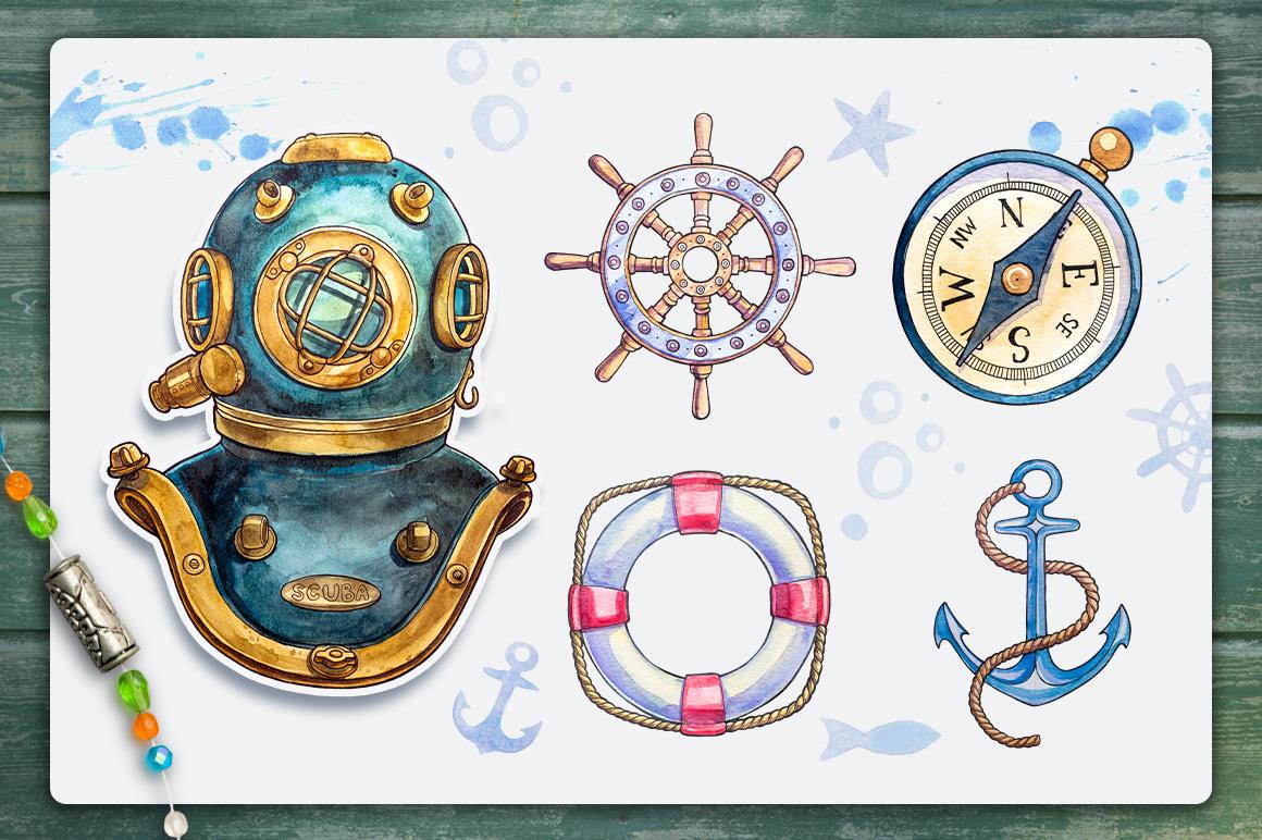 Nautical illustrations example image 2