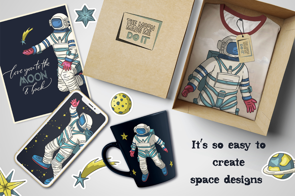 Other Space. Big graphic pack. example image 3