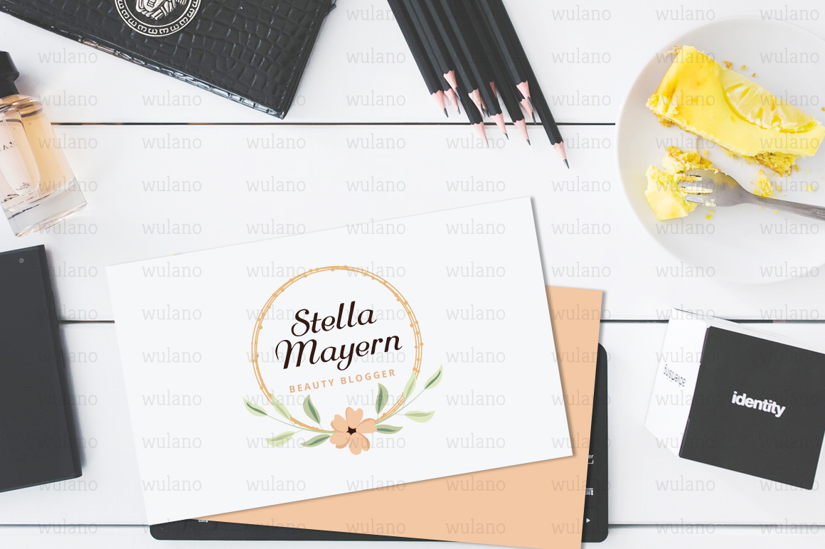 Floral Logo Templates Vol.1 example image 5