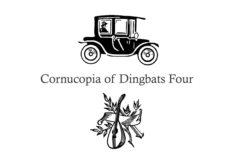 Cornucopia of Dingbats Four example image 1
