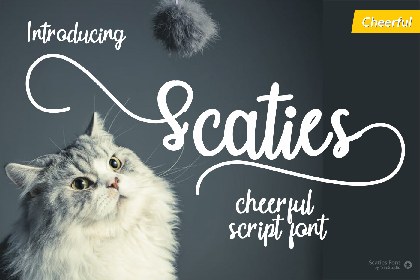 Scaties - Cheerful Font example image 1