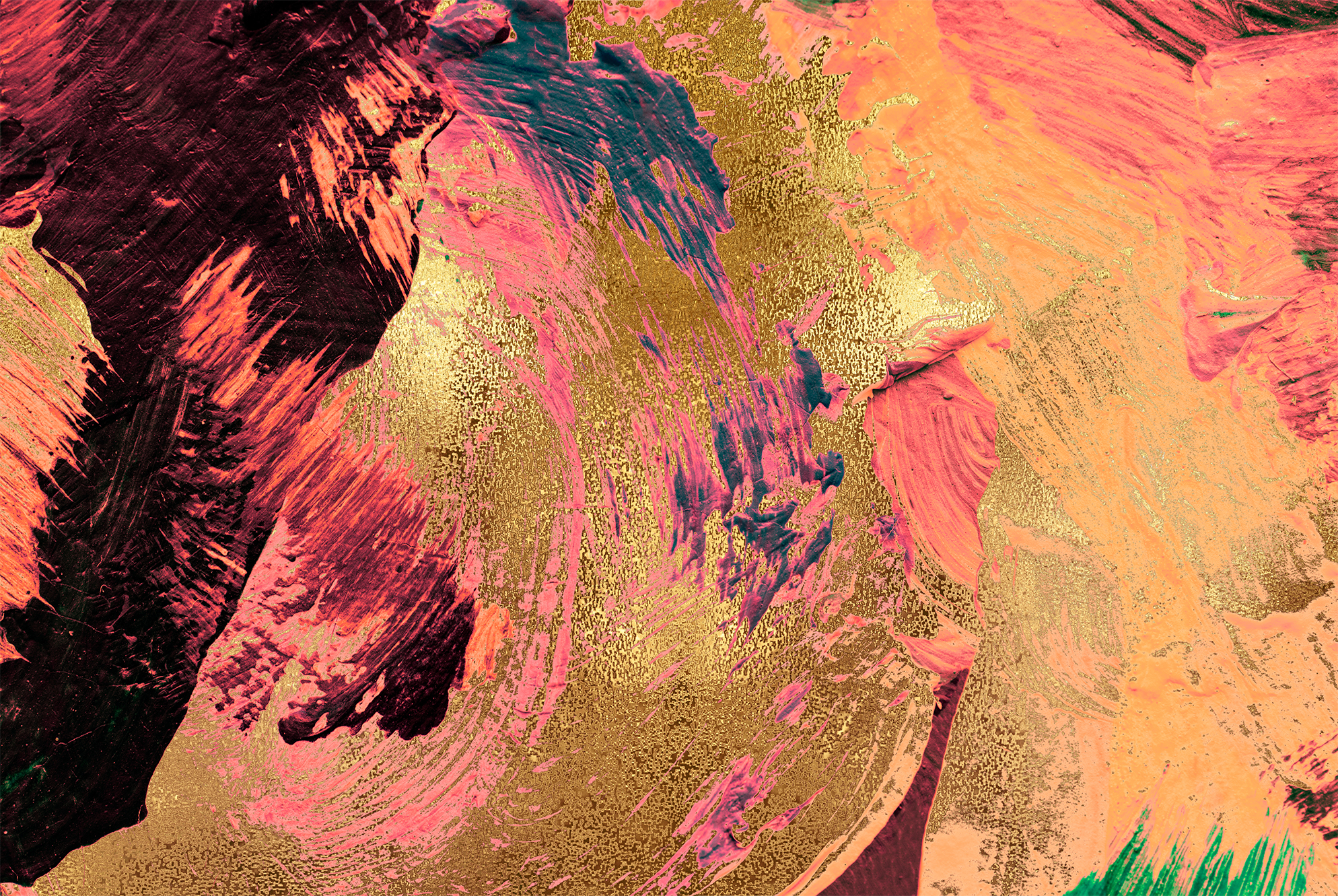 Gold & Painted Backgrounds example image 7