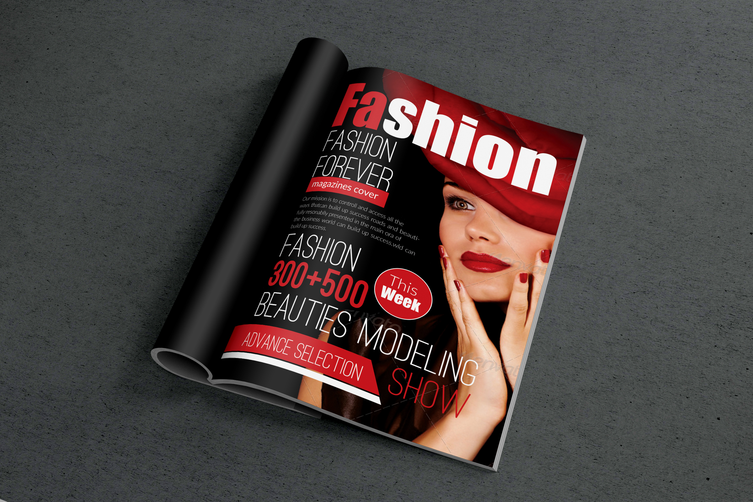 Magazine Cover Templates example image 3
