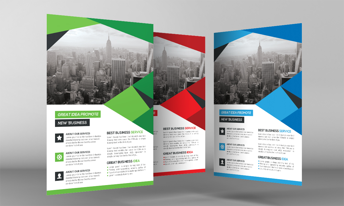 Shape Business Flyer example image 3