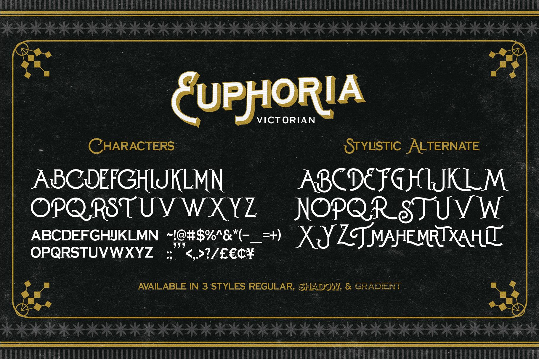 Euphoria Font Family example image 5