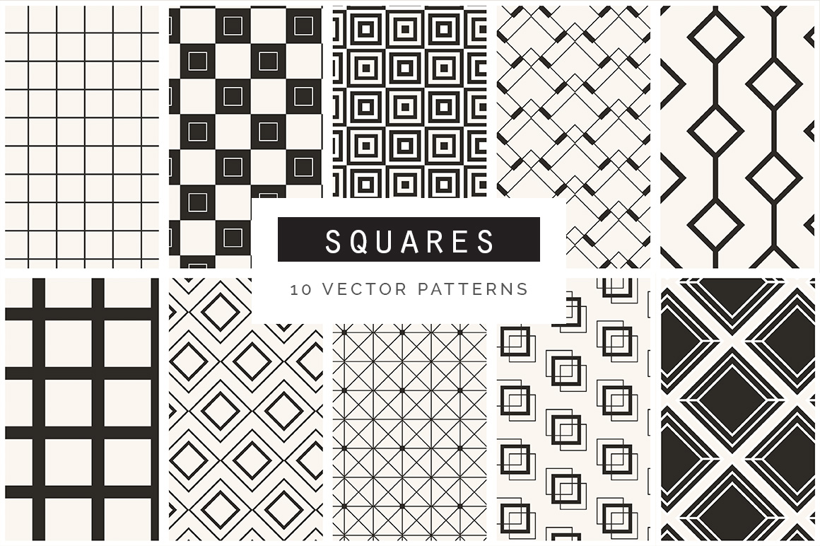 Geometric Patterns Bundle - vol2 example image 3