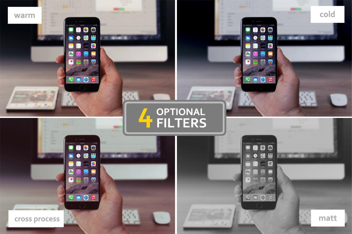 Handheld Device Mockups example image 3