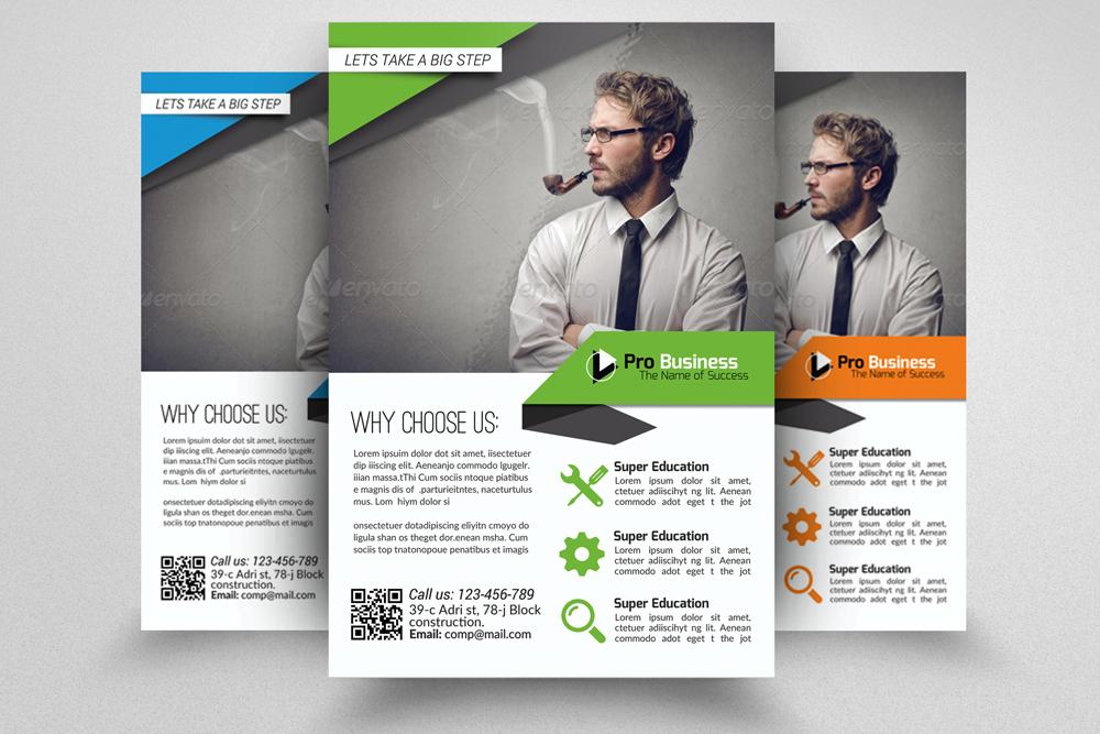 6 Multi Use Business Flyers Bundles example image 7