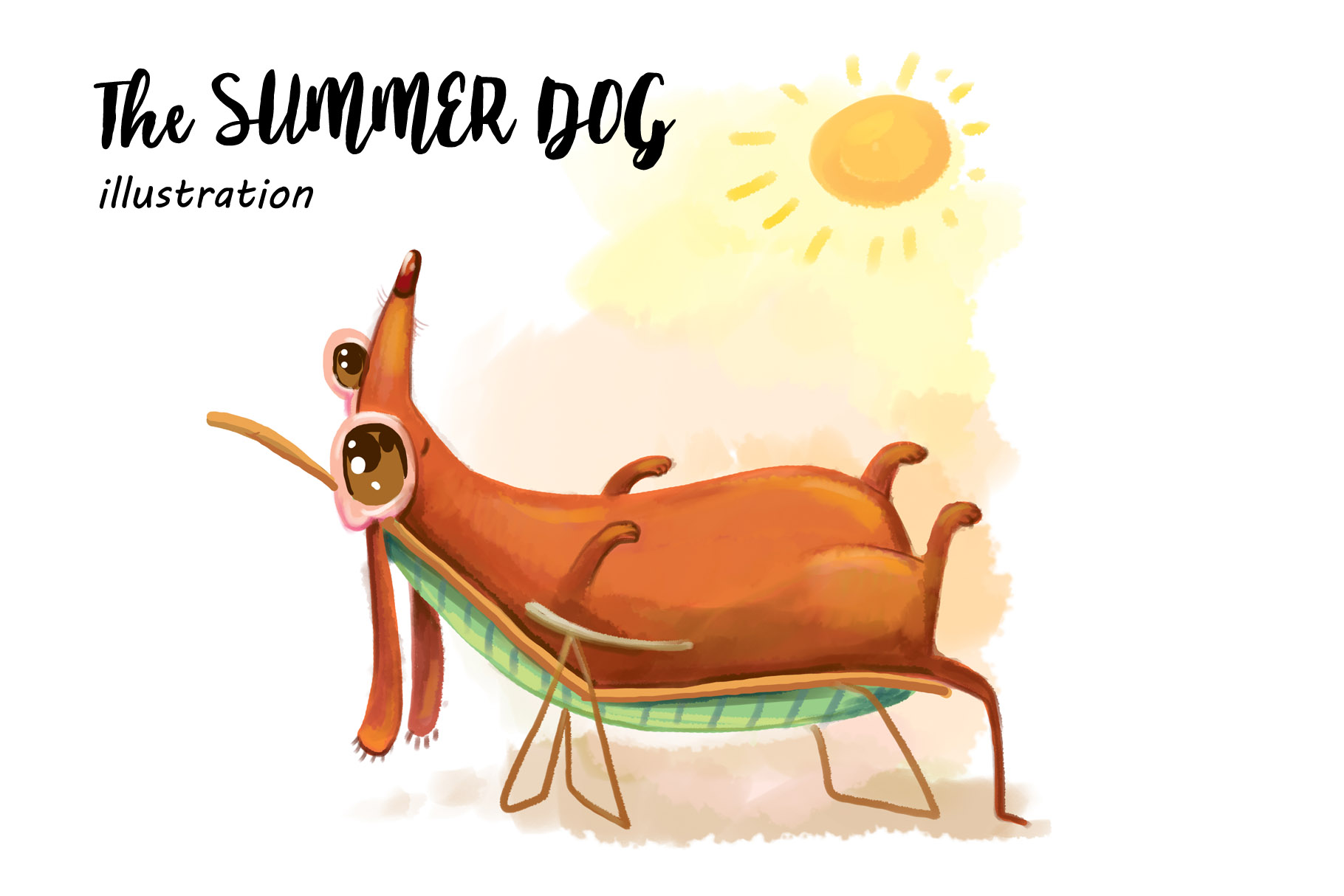 The Summer Dog example image 1