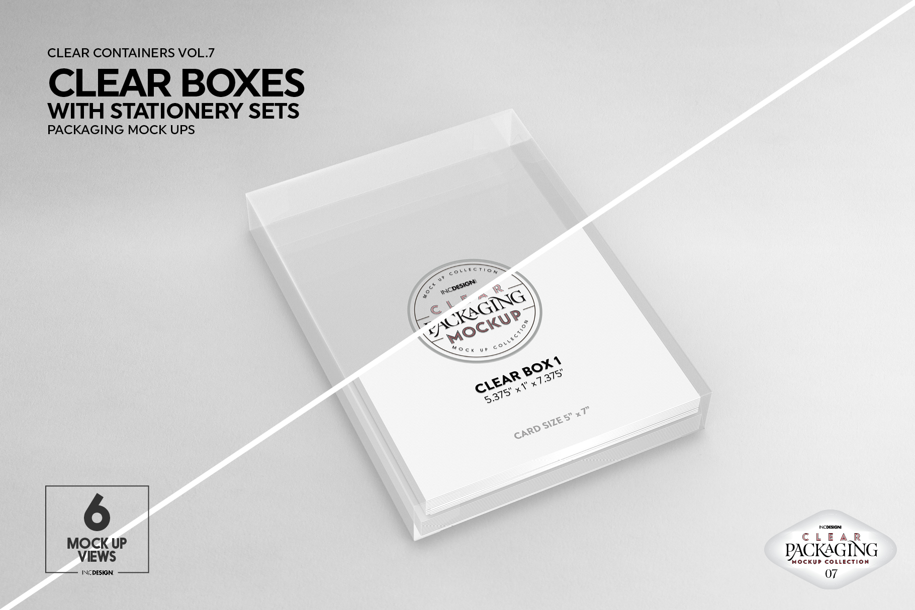 VOL.7 Clear Packaging Mockup Collection example image 10