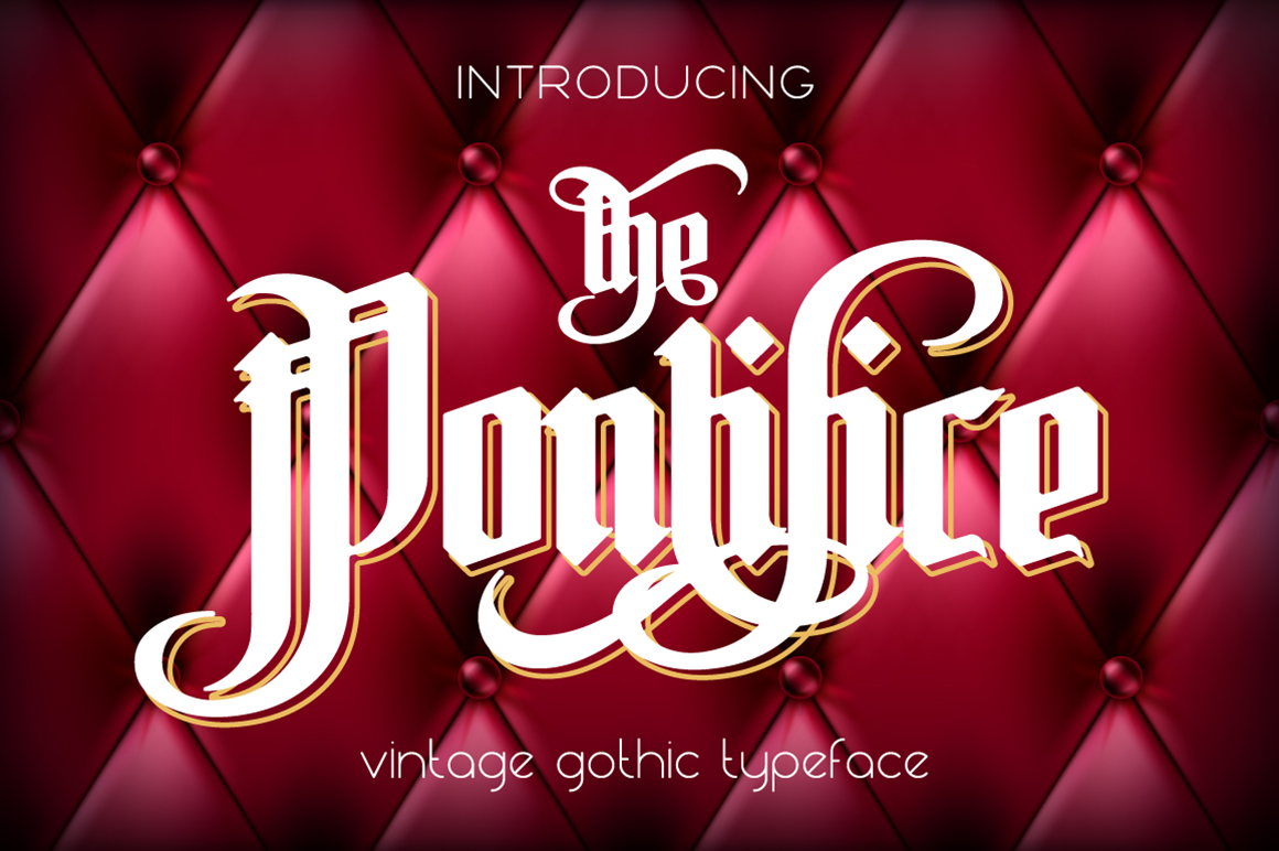 Gothic font bundle example image 6