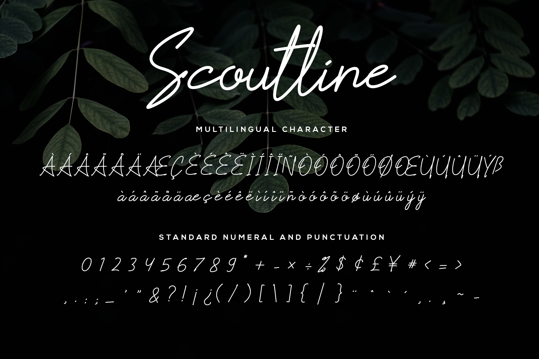Scoutline Font example image 7