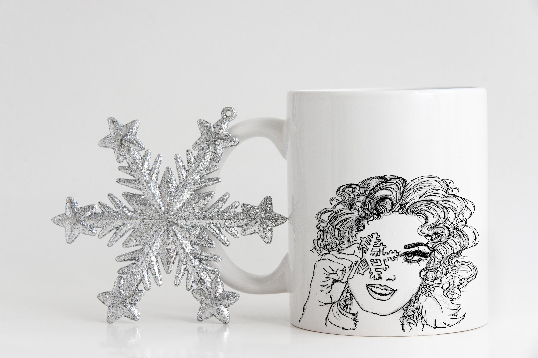 Snowflake Girl example image 4