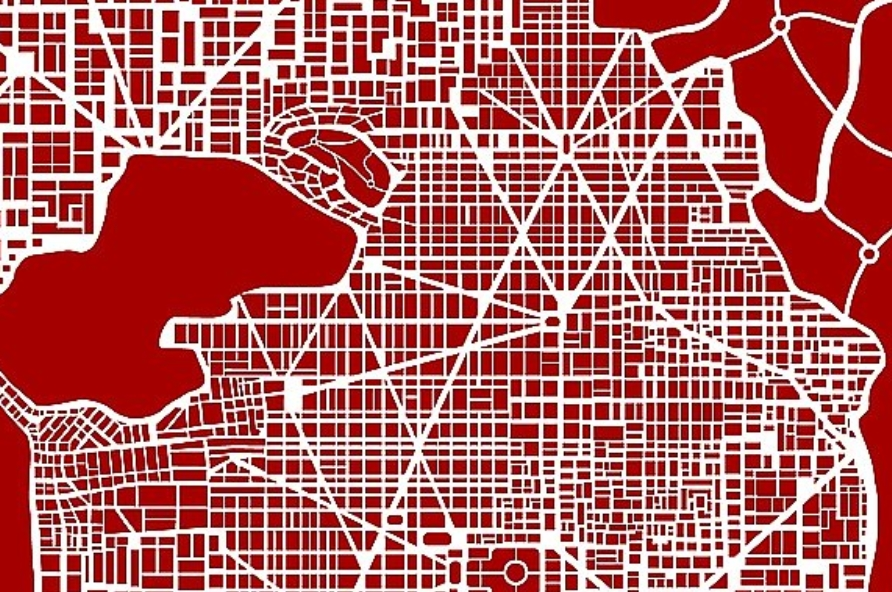Abstract city map plan example image 3