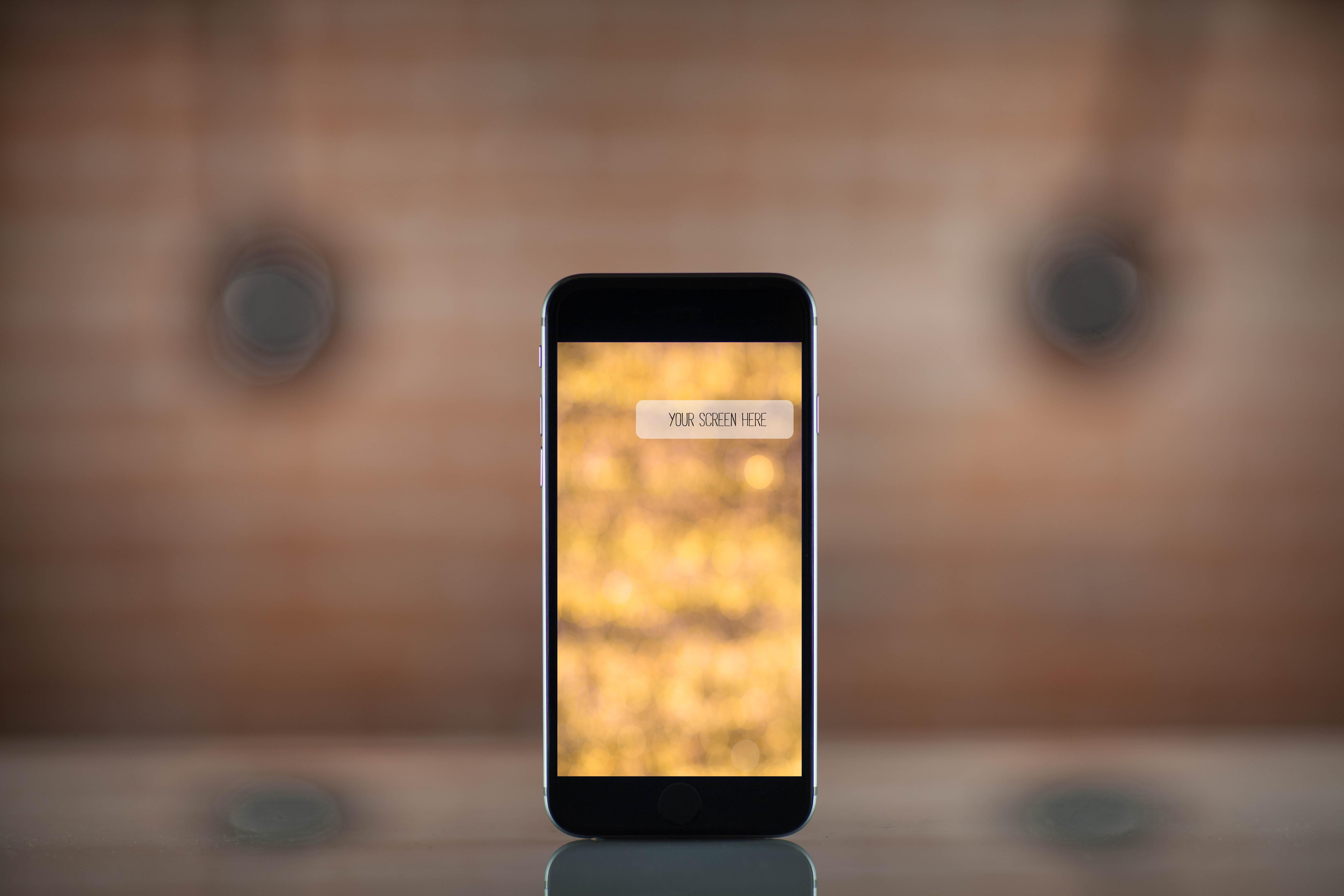 Set from 4 iPhone mockups example image 4