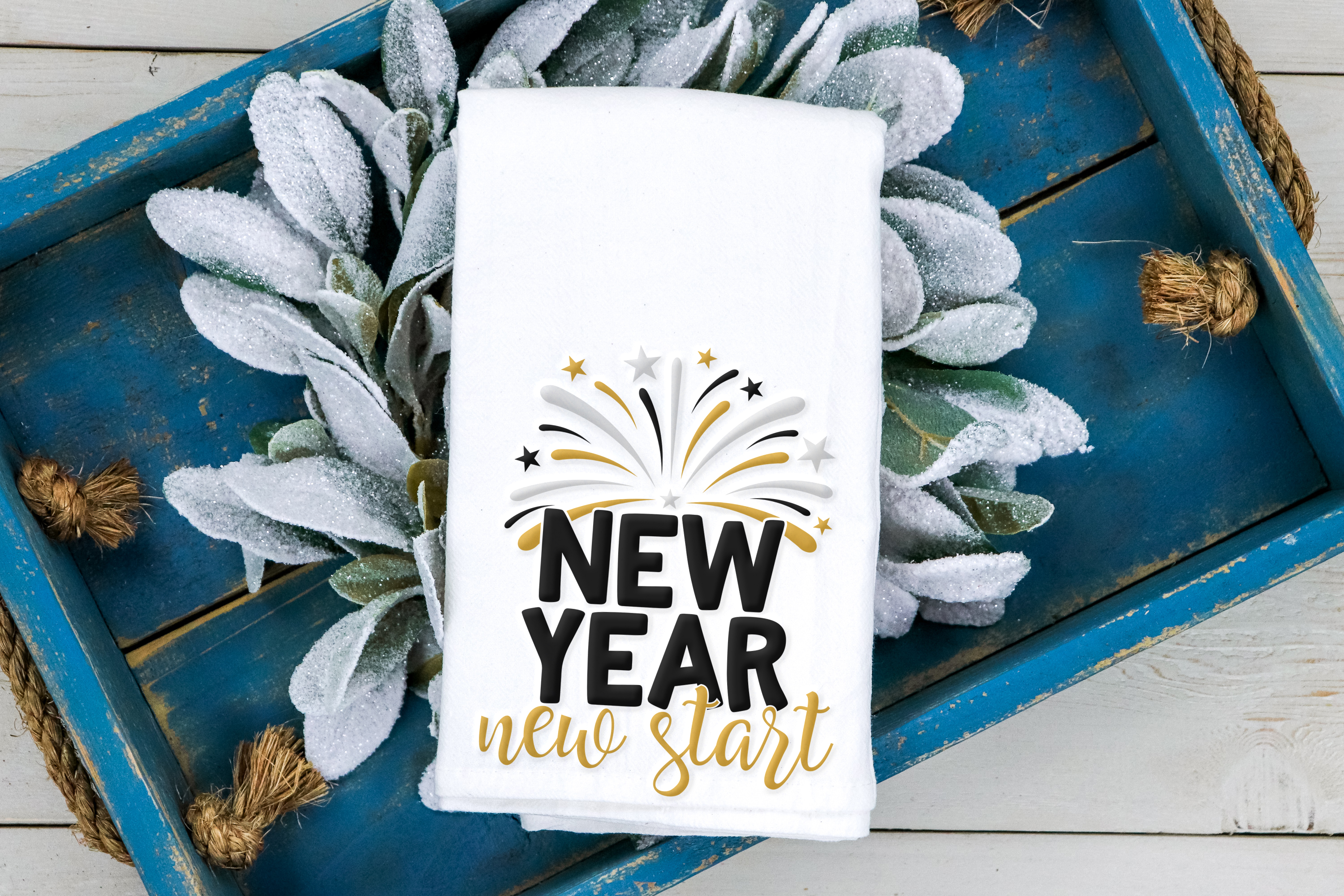 2019 New Year Bundle- 10 Unique New Year Designs example image 4